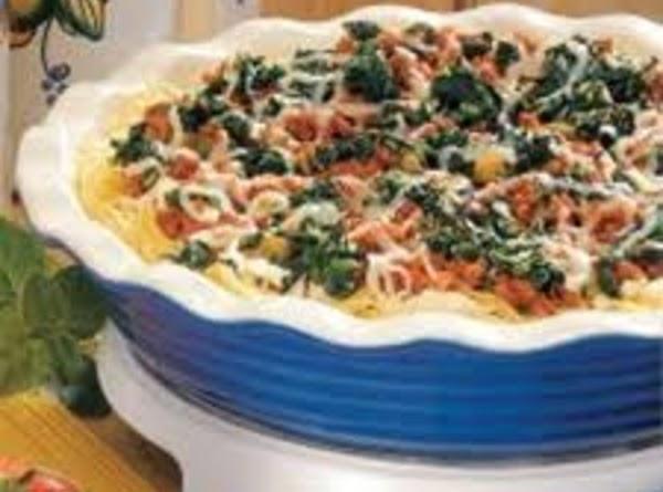 Chicken And Spinach Pasta/rice Casserole Recipe