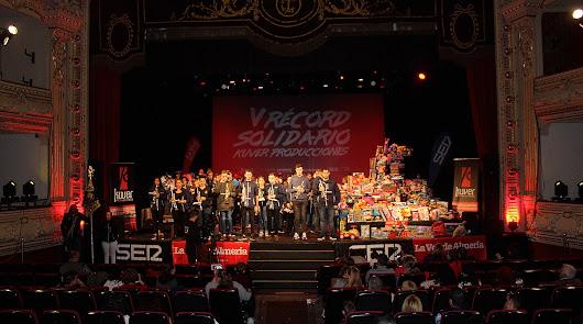 Nuevo 'Récord Solidario' en la V edición de Kuver Producciones