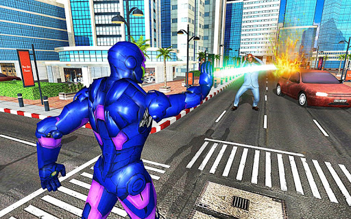 Iron Hero: City Legend Battle game (apk) free download for Android/PC/Windows screenshot