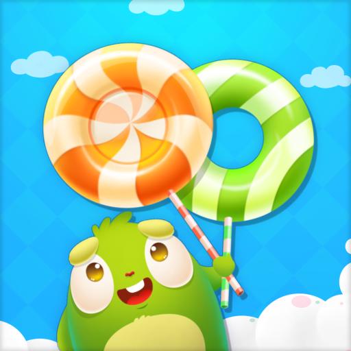 糖果小怪兽 - 呆萌小怪兽的糖果大战 休閒 App LOGO-硬是要APP