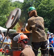 Photo: The Inaugural Arts on Fire industrial arts fair and iron pour (photo Chris Balton)