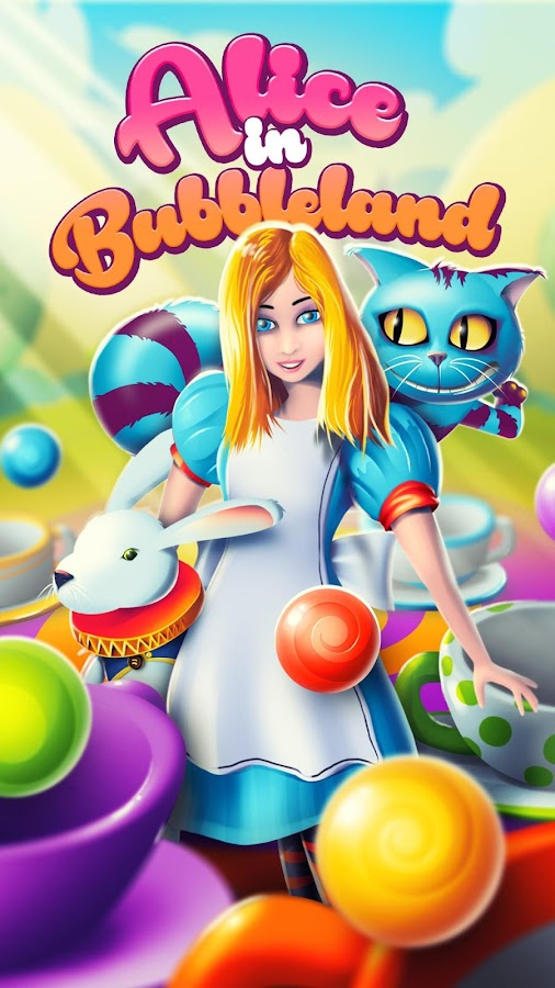 Bubble pop - Alice in Wonderland- screenshot
