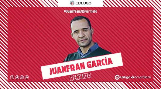 El nuevo entrenador del Lugo.