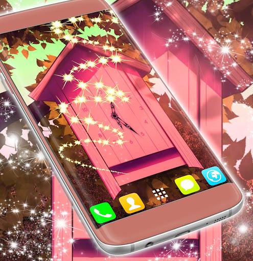 Cartoon Clock Live Wallpaper screenshot 3