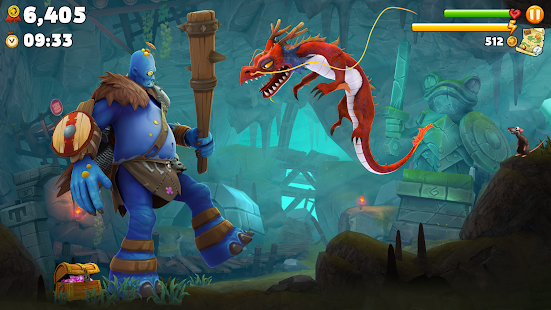 Download Hungry Dragon 1 31 MOD APK + Data Unlimited Money