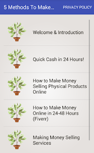 5 Methods To Make Easy Money Online Newbie Guide - náhled