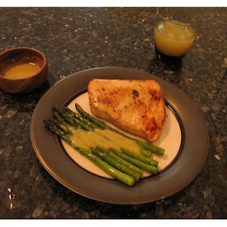 Asparagus With Mustard Dressing