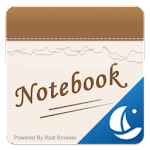 Notebook Boat Browser Theme Icon