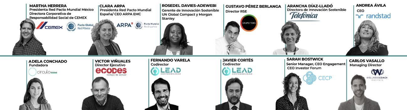 Ponentes del programa Lead Sostenibilidad
