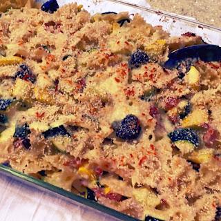 Rustic Veggie Mac n' Cheese www.myfamilydinner.com