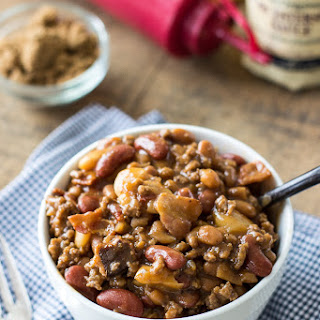 Baked Three Bean Casserole