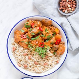Slow Cooker African Peanut Stew.