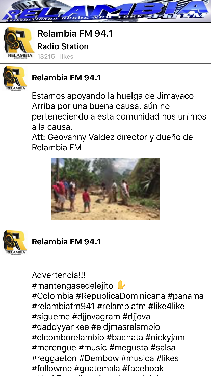 Relambia FM- screenshot