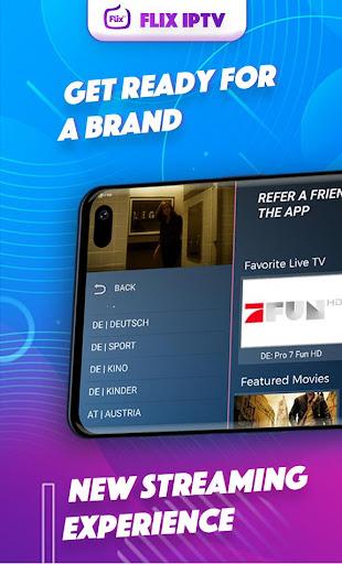 Flix iptv Screenshots 1