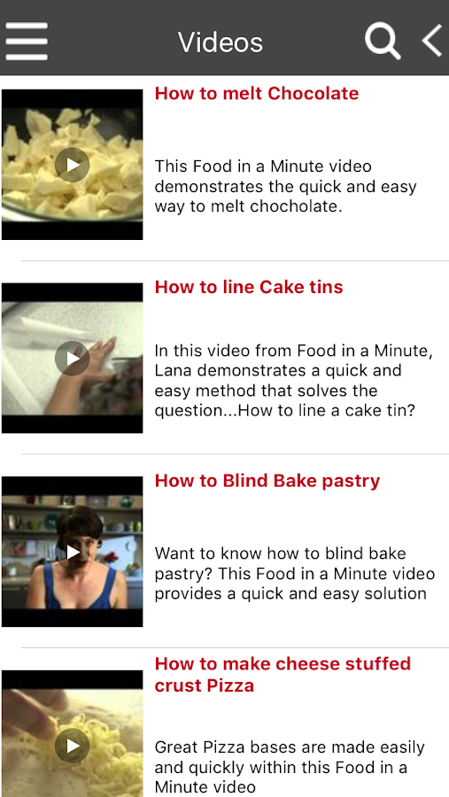 Recipes to Go®- screenshot