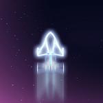 Neon Jet Icon