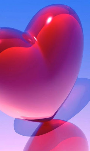 HD Love Hearts Live Wallpaper