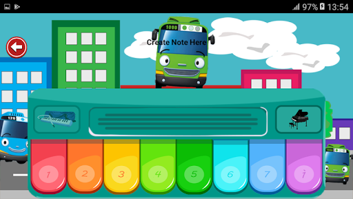 Piano For Kids Bus Tayo 1.0 screenshots 7