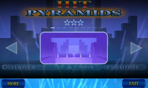 Hit Pyramids