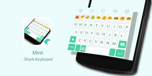 Emoji Keyboard-Mint