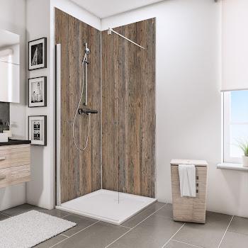 Panneaux muraux DecoDesign DÉCOR, bois vieilli