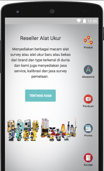 Reseller Alat Ukur- screenshot