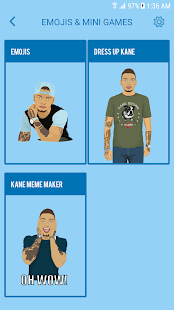 Kane Brown Stickers and Emojis - náhled