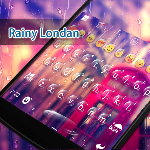 Rainy London Eva Keyboard -Gif 遊戲 App LOGO-硬是要APP