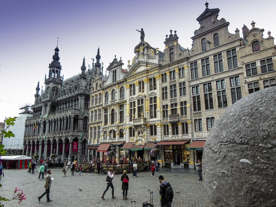 Grand Place de Bruselas.