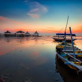 by Eko Sumartopo - Transportation Boats