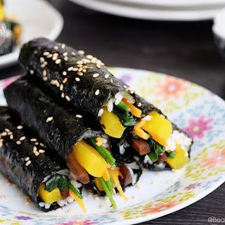 Mayak Kimbap - Addictive Seaweed Rice Rolls.
