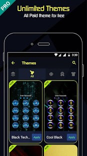 AppLock Incredible Pro - náhled