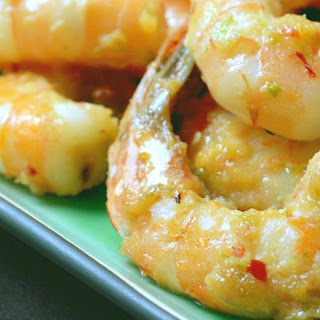 Grilled Lemon Grass Prawns Recipe