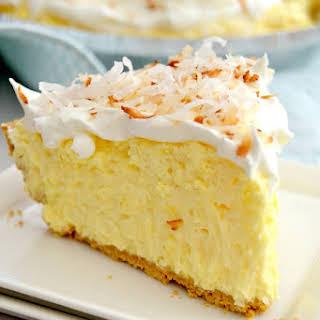 Easy Coconut Cream Pie.