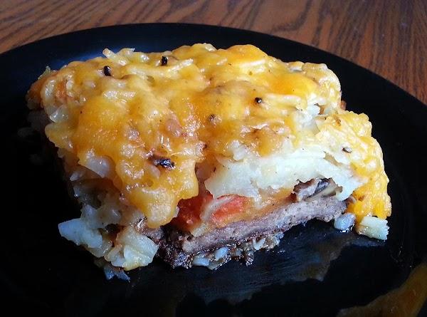 Hashbrown Shepherds Pie Recipe