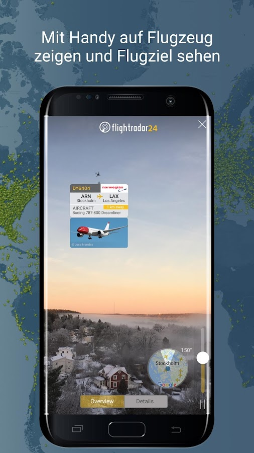 Flightradar24 - Flight tracker / Flugradar – Screenshot