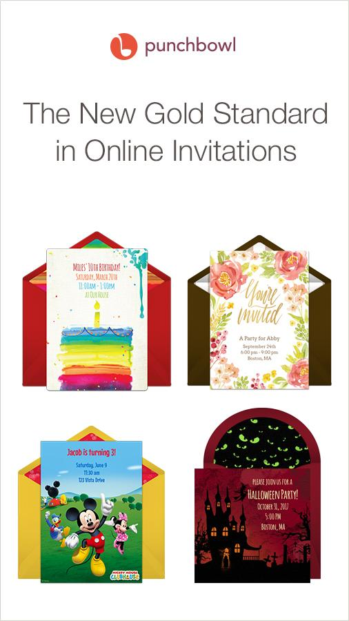 Punchbowl — Online Invitations- screenshot