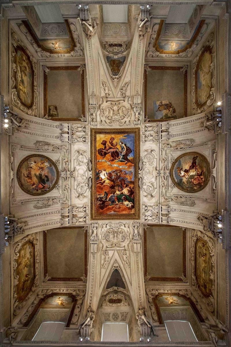un soffitto alla reggia di Venaria a Torino di massimo bertozzi