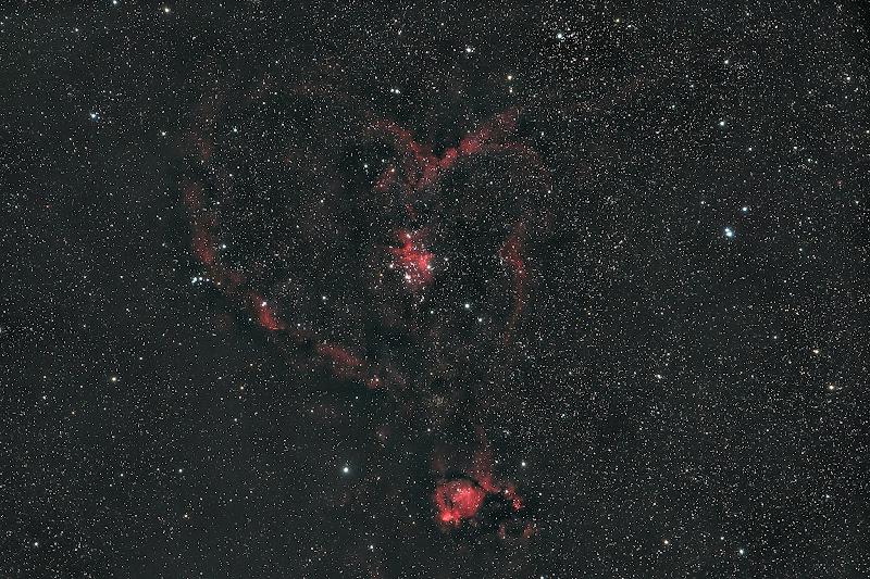 Anche nel profondo cielo si festeggia San Valentino...  di Massimo_Tamajo