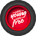 Live Young Live Free icon