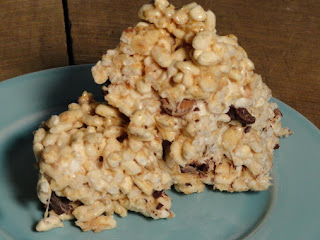 Hazelnut-toasted Coconut Crispy Treats Recipe
