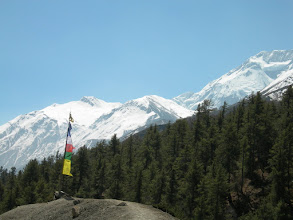 Photo: Point de vue 3800 m: Annapurna II
