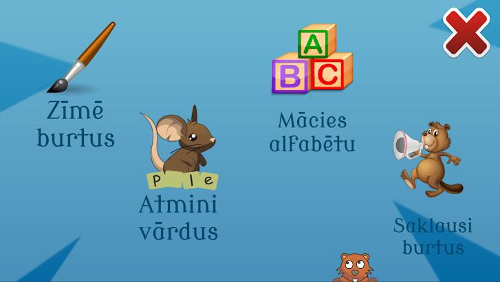 Ābece- Burtinieks screenshot