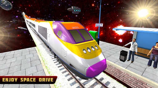 Bullet Train Space Driving screenshots 1