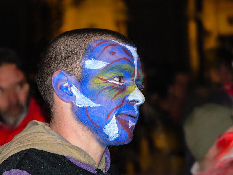 """"""" mi dipingevo le mani e la faccia di blu..."""" di D. Costantini"""