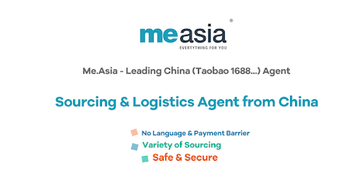 Me Asia - Leading China (Taobao 1688   ) Agent - التطبيقات