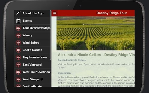 Alexandria Nicole Cellars- screenshot thumbnail
