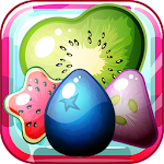Sugar Candy Fruits - Sweet Candy Match 3 Icon