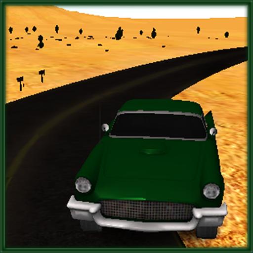 Desert Retro Drifting Cars Stunt