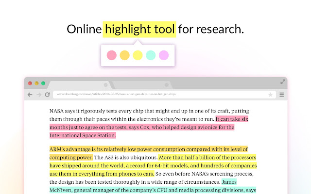 Weava Highlighter - PDF & Web